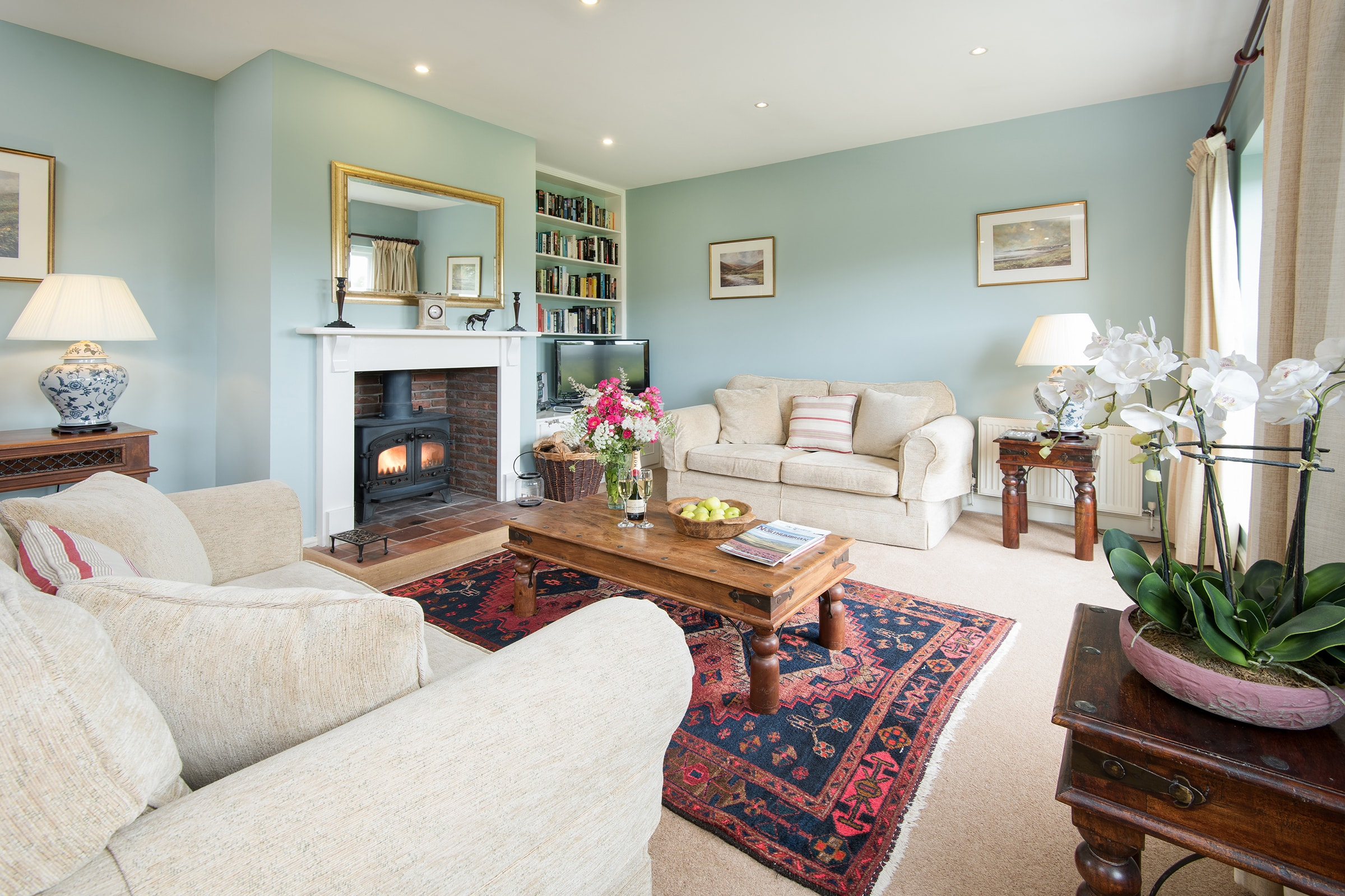 Luxury Self Catering Sitting Room